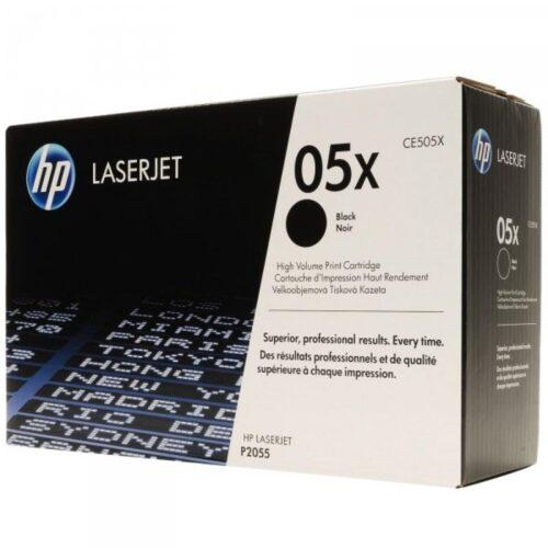 HP 05X Toner schwarz CE505X