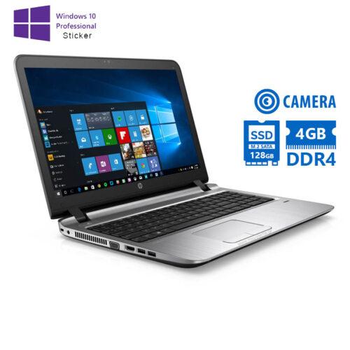 "HP (A-) ProBook 450G3 i5-6200U/15.6""/4GB DDR4/128GB M.2 SSD/DVD-RW/Camera/10P Grade A- Refurbished L"