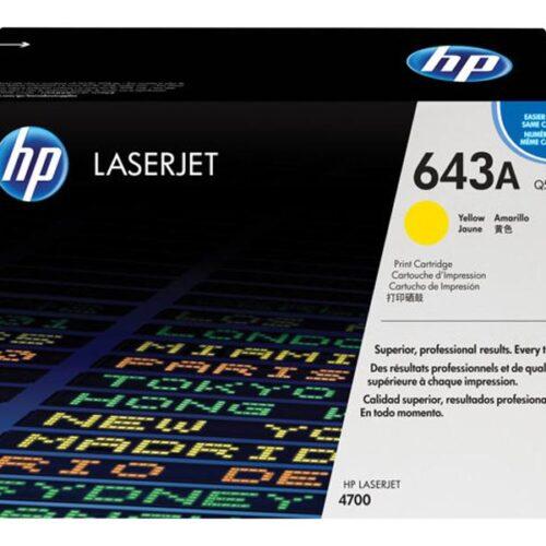 HP Tonerpatrone - 643A - Q5952A - yellow Q5952A