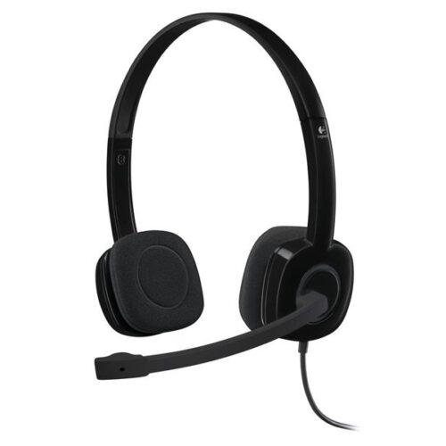 Headset Logitech H151 Stereo Headset 981-000589