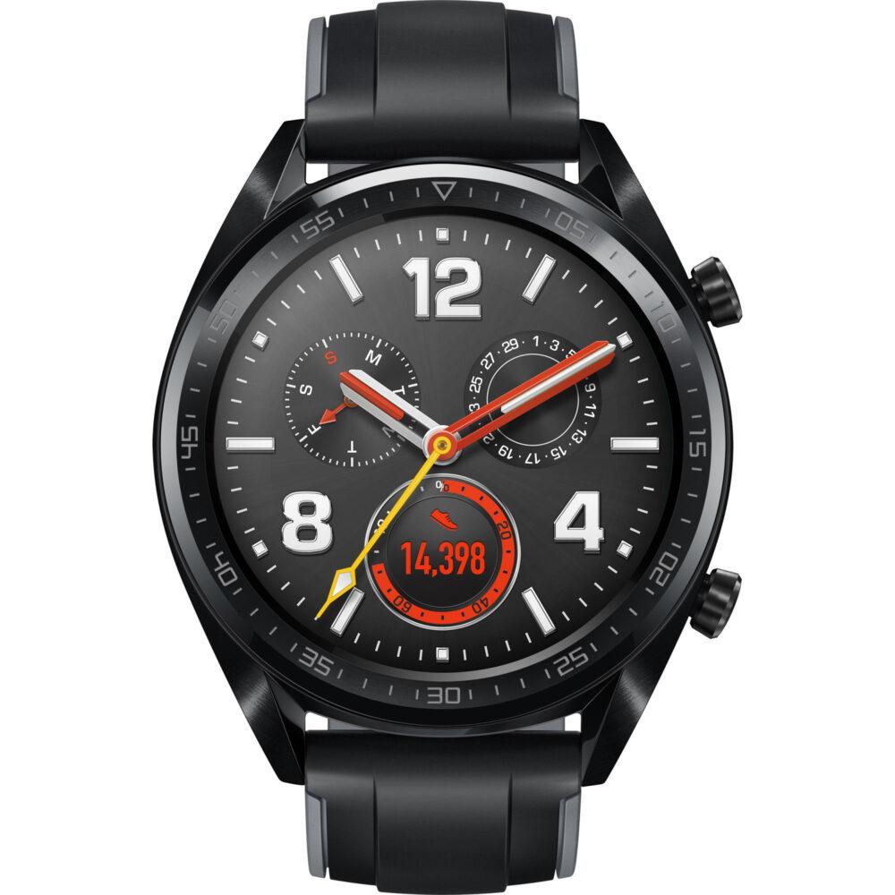 Huawei Watch GT-B19S Sport Smartwatch Black DE 55023255