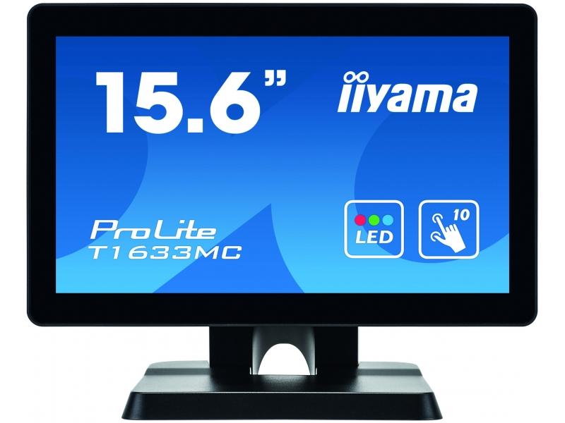 IIYAMA 39.5cm (15,6) T1633MC-B1  169 M-Touch HDMI+DP+USB T1633MC-B1