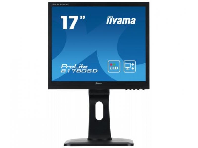 IIYAMA 43.2cm (17)  B1780SD-B1  54 DVI black lift Spk. B1780SD-B1
