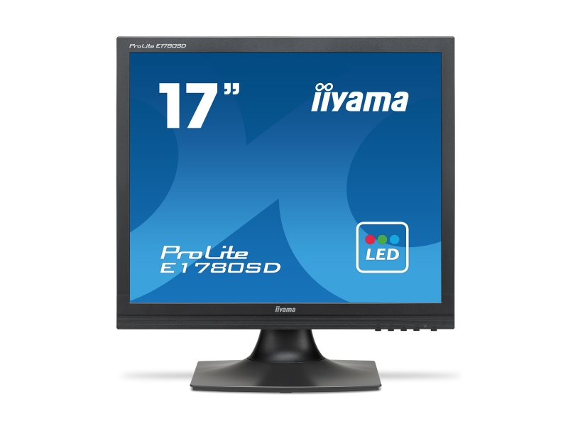 IIYAMA 43.2cm (17)  E1780SD-B1  54 DVI black LED Spk E1780SD-B1