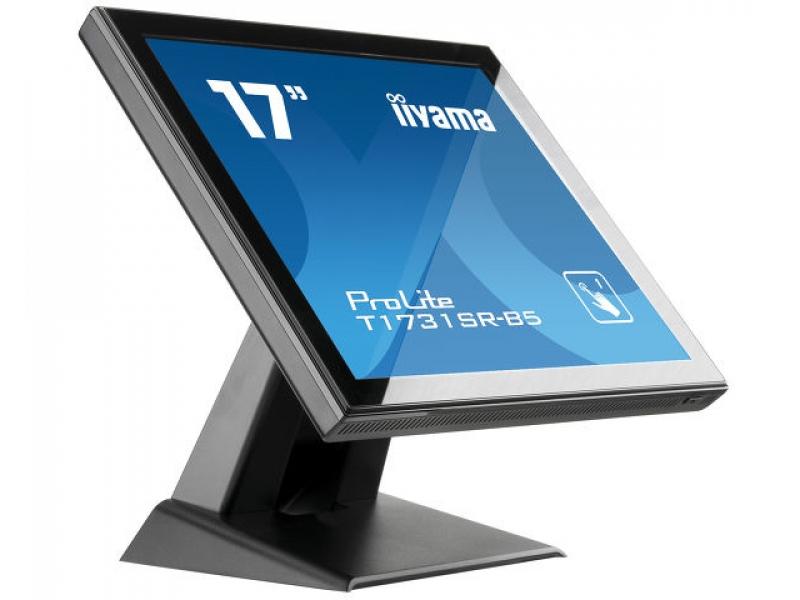 IIYAMA 43.2cm (17)  T1731SR-B5  54 HDMI+DP Spk black T1731SR-B5