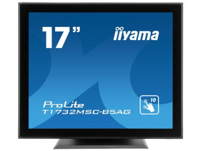 IIYAMA 43,2cm (17)  T1732MSC-B5AG 54 M-Touch HDMI+DP bla T1732MSC-B5AG