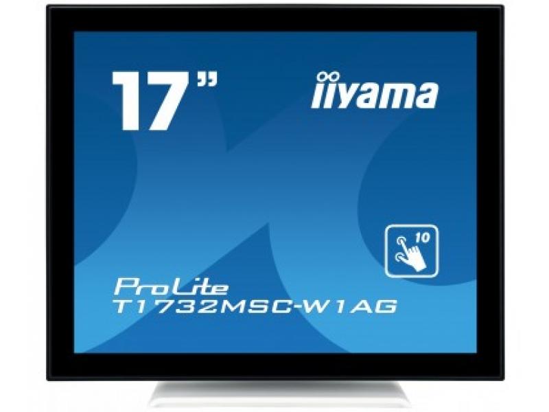 IIYAMA 43,2cm (17)  T1732MSC-W1AG 54 M-Touch DVI+USB wht T1732MSC-W1AG