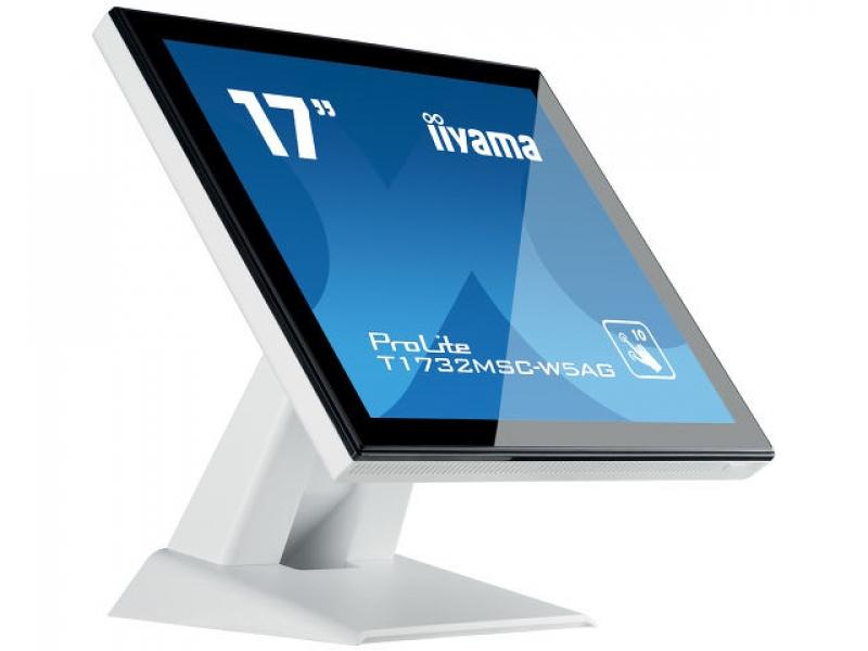 IIYAMA 43,2cm (17)  T1732MSC-W5AG 54 M-Touch HDMI+DP wh. T1732MSC-W5AG