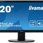 IIYAMA 49.4cm (19,5) E2083HSD-B1 169 DVI-D,ACR,VGA,Spk E2083HSD-B1