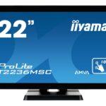 IIYAMA 54.6cm (21,5) T2236MSC-B2 169 M-Touch DVI+HDMI T2236MSC-B2