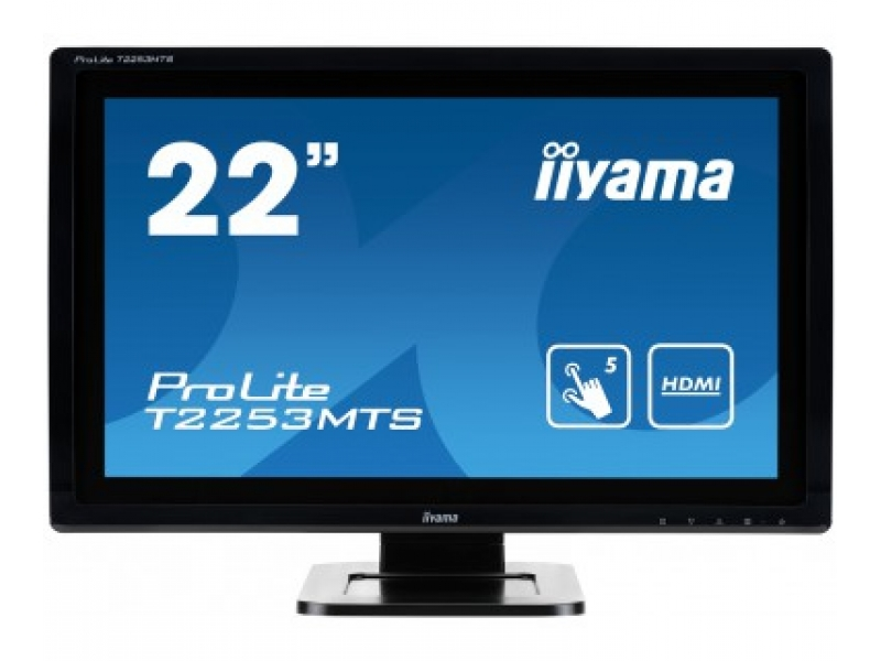 IIYAMA 54.7cm (21,5) T2253MTS-B1 169 M-touch DVI+HDMI T2253MTS-B1