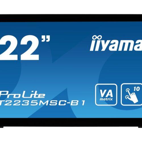 IIYAMA 55.9cm (21,5) T2235MSC-B1 169 M-Touch DVI black T2235MSC-B1