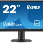 IIYAMA 55.9cm (22)  B2280WSD-B1 1610 DVI bl.lift LED Spk B2280WSD-B1