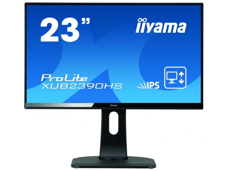IIYAMA 58.4cm (23)  XUB2390HS-B1 169 DVI+HDMI Li.IPS Sp. XUB2390HS-B1