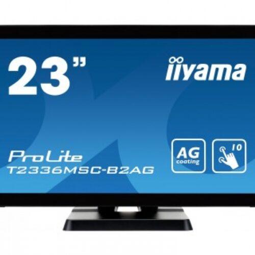 IIYAMA 58,0cm (23)  T2336MSC-B2AG 169 M-Touch DVI+VGA T2336MSC-B2AG
