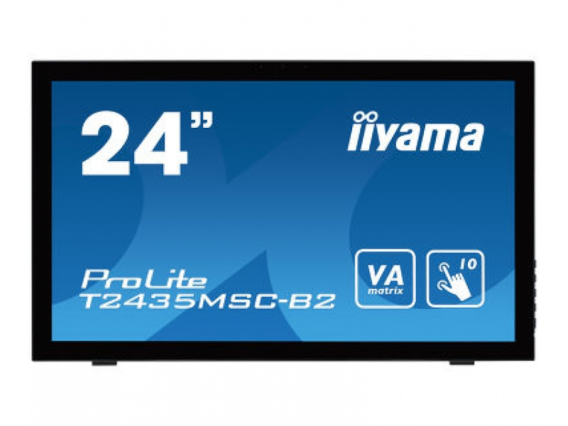 IIYAMA 59.8cm (23,6) T2435MSC-B2 169 M-Touch DVI-D+HDMI T2435MSC-B2