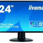 IIYAMA 60.0cm (23,6) XB2481HS-B1 169 DVI+HDMI bl. Spk. XB2481HS-B1