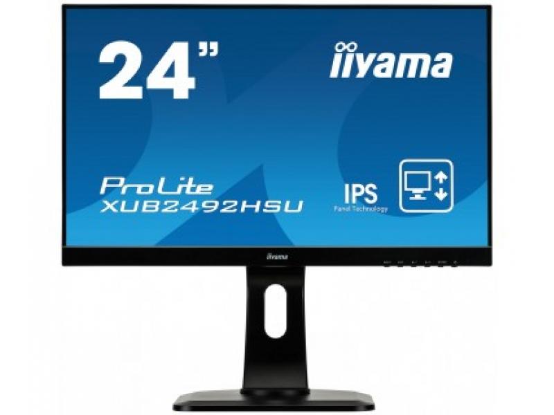 IIYAMA 60.9cm (23,8) XUB2492HSU-B1 169 IPS HDMI+DP Lift XUB2492HSU-B1