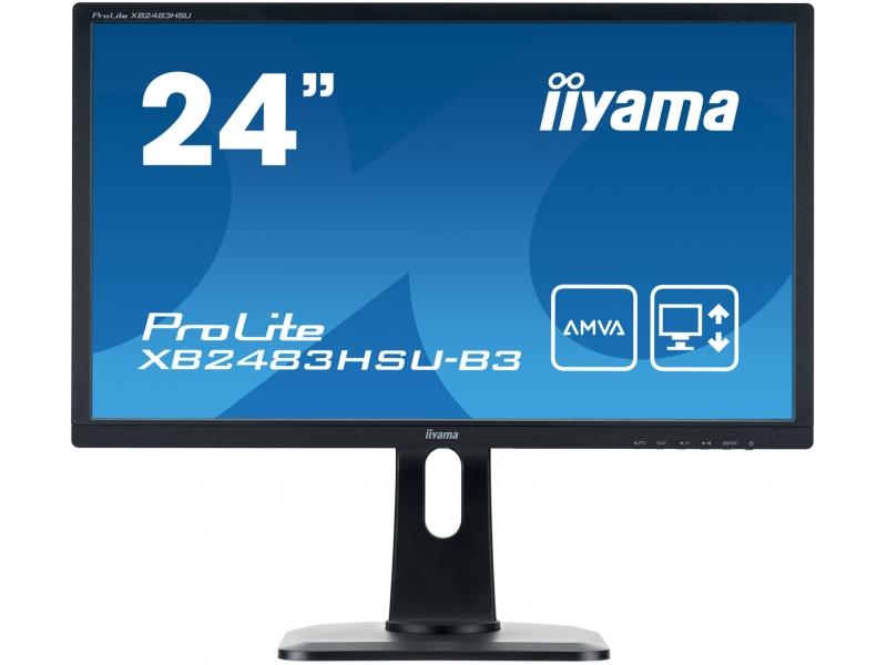 IIYAMA 61.0cm (24)  XB2483HSU-B3 169 DP+HDMI+USB Lift XB2483HSU-B3