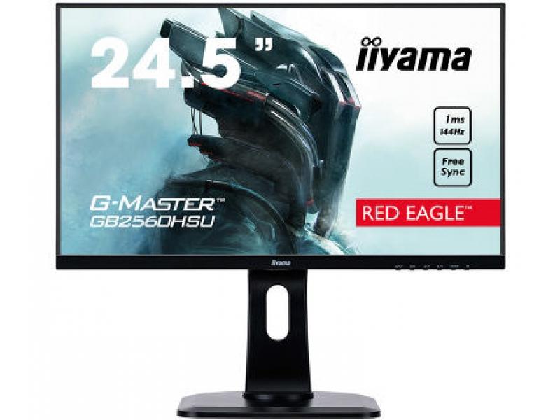IIYAMA 62.2cm (24,5) GB2560HSU-B1 169 HDMI+DP+USB Lift Pi GB2560HSU-B1
