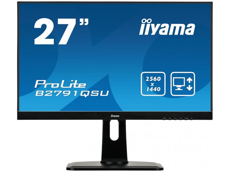 IIYAMA 68.5cm (27)  B2791QSU-B1  169 DVI+HDMI+DP+USB LE B2791QSU-B1
