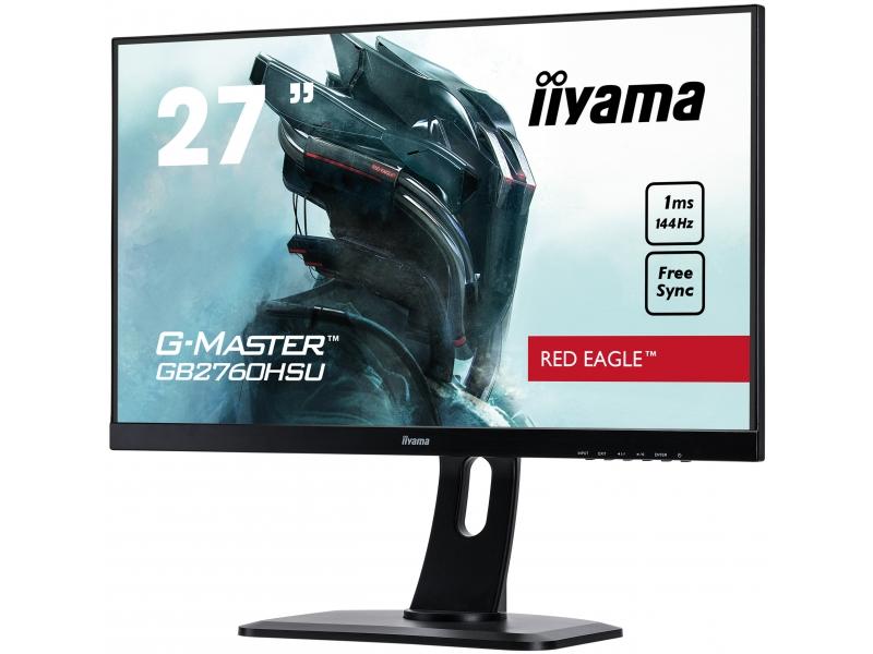 IIYAMA 68.6cm (27)  GB2760HSU-B1 169 HDMI+DP+USB black GB2760HSU-B1