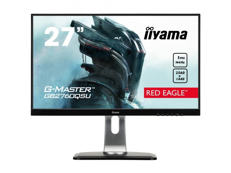 IIYAMA 68.6cm (27)  GB2760QSU-B1 169 DVI+HDMI+DP+USB bl GB2760QSU-B1