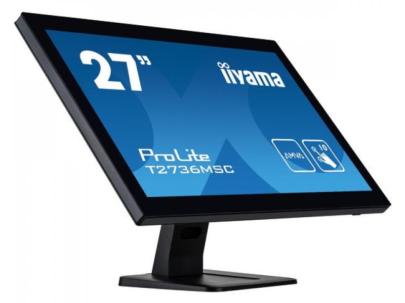 IIYAMA 68.6cm (27)  T2736MSC-B1 169 M-Touch HDMI+DP+USB T2736MSC-B1