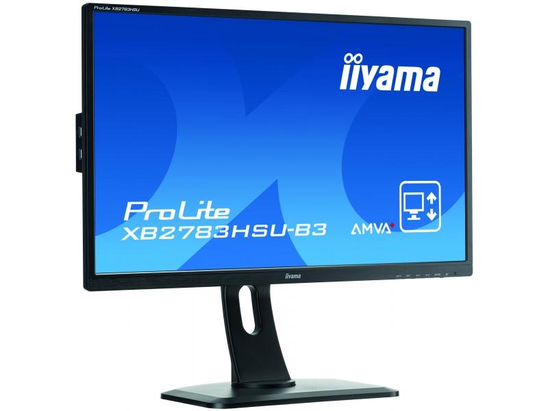 IIYAMA 68.6cm (27)  XB2783HSU-B3 169 VGA+HDMI+DP+USB XB2783HSU-B3