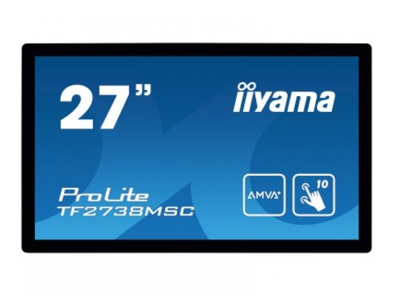 IIYAMA 68.8cm (27)  TF2738MSC-B1 169 M-Touch DVI+HDMI+DP TF2738MSC-B1
