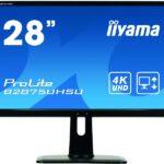IIYAMA 70,8cm (28)  B2875UHSU-B1 169 VGA+2xHDMI+DP+USB bl B2875UHSU-B1
