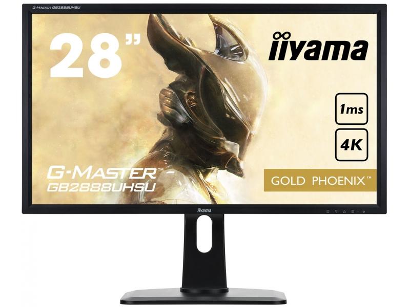 IIYAMA 71,0cm (28)  GB2888UHSU-B1 169 2xHDMI+DP Lift blck GB2888UHSU-B1