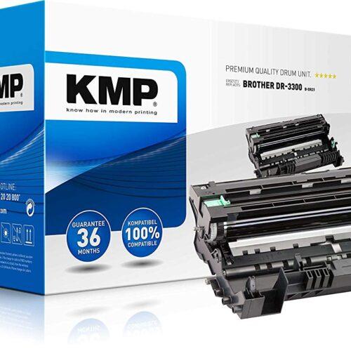 KMP B-DR21 printer drum Toner Cartridge Compatible - Black - 30,000 pages 1258,7000