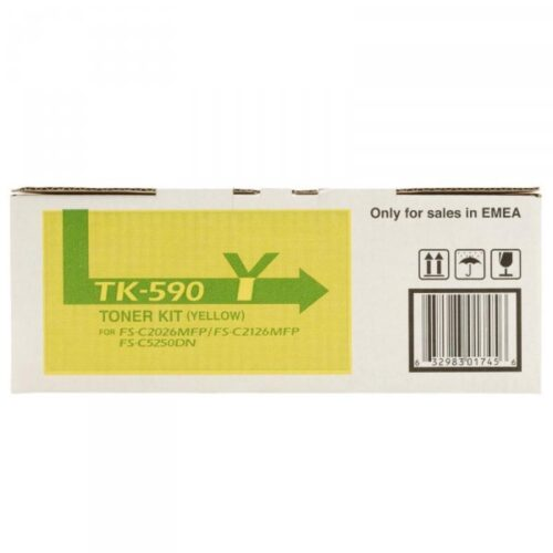 Kyocera Tonerpatrone - TK590Y - gelb 1T02KVANL0