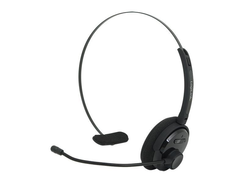 LogiLink Bluetooth Mono Headset (BT0027) black