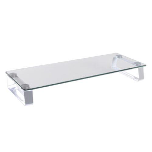 Logilink Glass tabletop monitor riser max. 20 kg BP0027