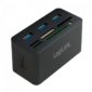 Logilink USB 3.0 Hub with All-in-One Card Reader (CR0042)