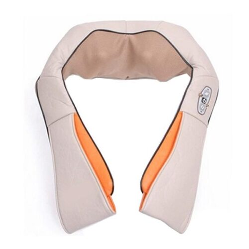 Massager of neck kneading with heating function