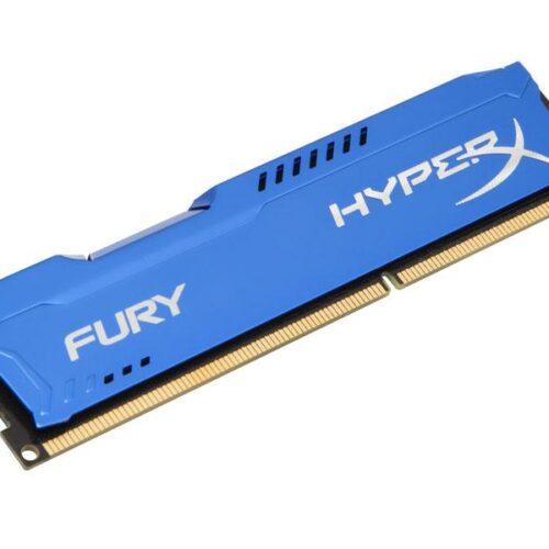 Memory Kingston HyperX Fury DDR3 1866MHz 8GB Blue HX318C10F