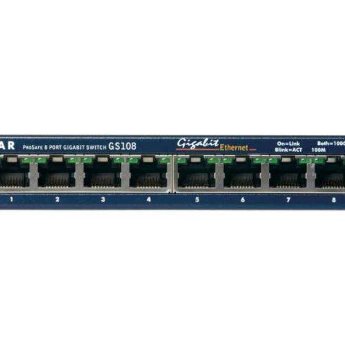 NETGEAR Switch Pro Safe 8-port 10