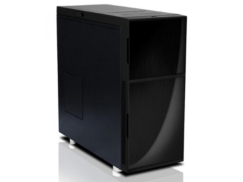 Nanoxia PC- Gehäuse Deep Silence 4 Dark Black 600060400