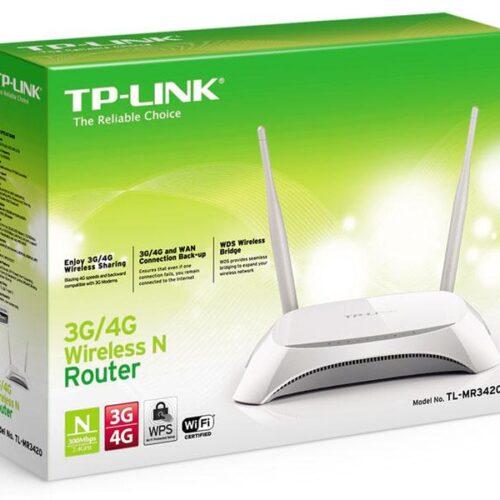 Network TP-Link WLAN-Router TP-Link TL-MR3420 3G