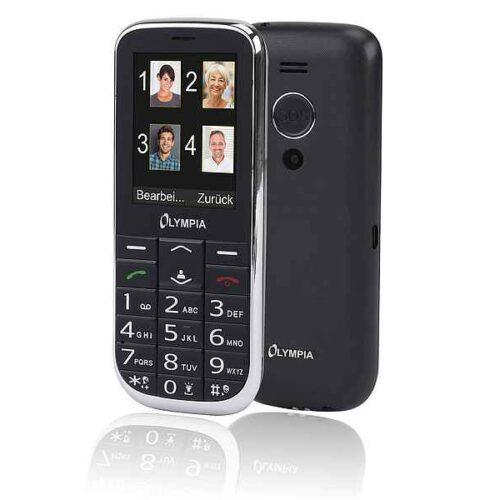 Olympia Joy II 6.1 cm (2.4inch) 64 g Black Camera phone 2219