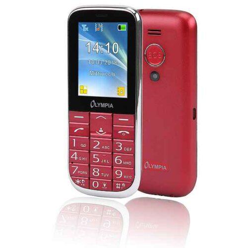 Olympia Joy II 6.1 cm (2.4inch) 64 g Red Camera phone 2220
