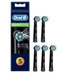 Oral-B CrossAction EB50 Replacement Brush Heads 5 pcs. black