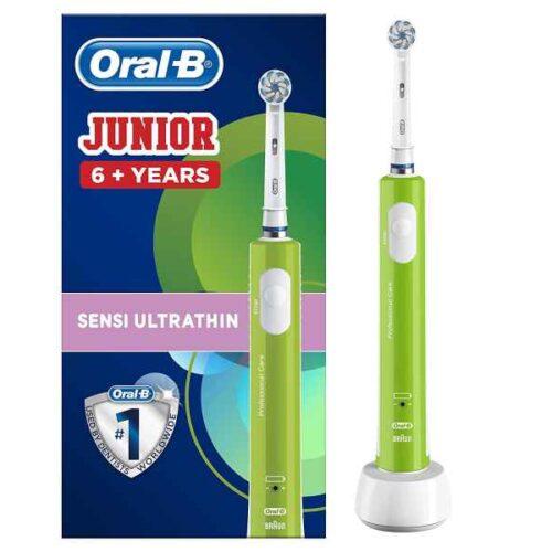Oral-B Junior Electric Toothbrush Green