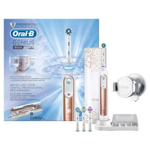 Oral-B Toothbrush Genius 9000 rose-gold