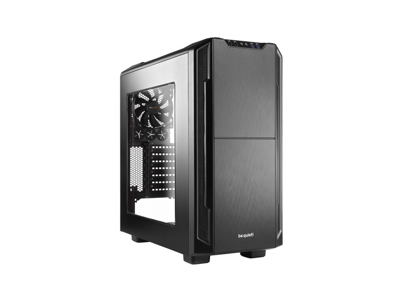 PC- Gehäuse BeQuiet Silent Base 600 mit Fenster - schwarz   be quiet! - BGW06