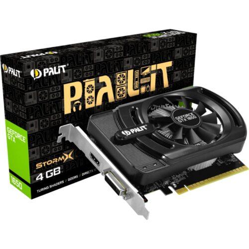 Palit GTX1650 StormX 4096MB,PCI-E,DVI,HDMI,DP NE51650006G1-1170F