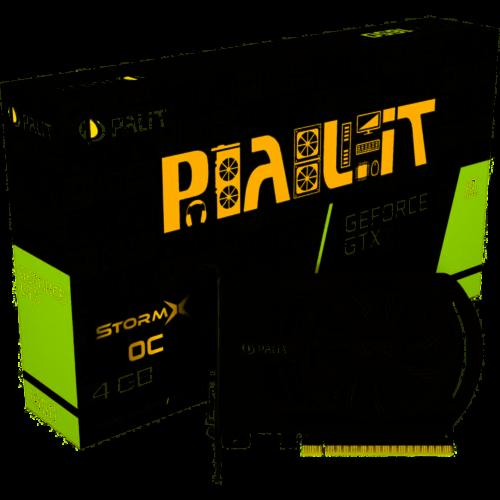 Palit GTX1650 StormX OC 4096MB,PCI-E,DVI,HDMI,DP NE51650S06G1-1170F
